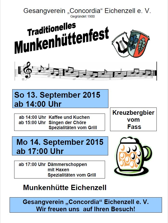 Munkenhüttenfest